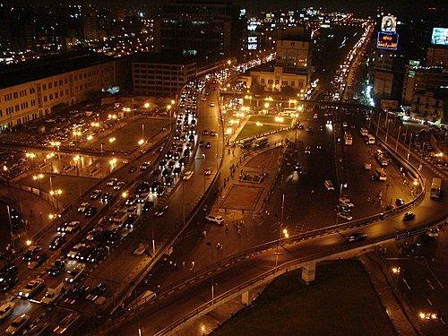 Egyptin pääkaupungin Kairon keskustanäkymä. KUVA: Wikimedia Commons