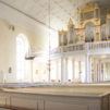 Oulun tuomiokirkko on yksi Suomen historiallisista arvokirkoista, joissa vietetään jumalanpalveluksia arkipyhinä. Kuva: Kirkon kuvapankki / Sanna Krook