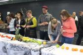 Viimeisimmät Kirkkopäivät järjestettiin toukokuussa Kouvolassa, jossa työstettiin yhteistötaideteos Liinaa. Kuva: Kirkkopäivät