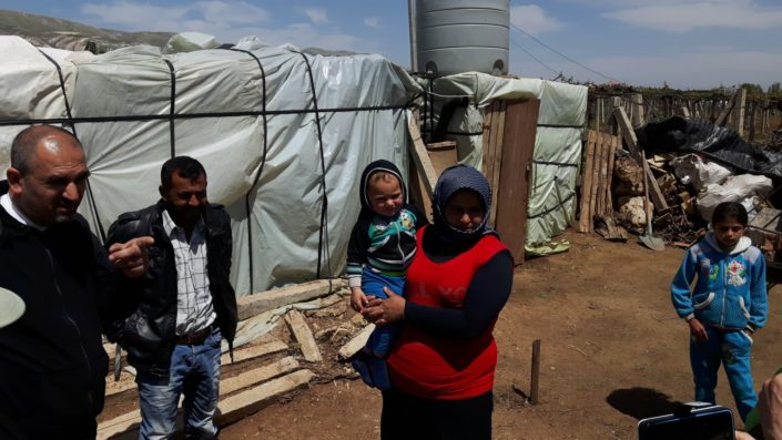 Pakolaisleiri Libanonissa