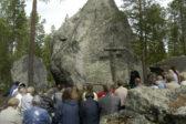 Rovaniemeläisessä Somosen luontokirkossa pidetään Marjetan päivän hartaus sunnuntaina 24.7. kello 13. Kuva: Rovaniemen seurakunta