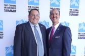 Scott Nutter ja Troy Carl Faith Comes by Hearing –lähetysjärjestöstä kertoivat Chicagossa 9.8. järjestetyssä GLS-partneritapaamisessa missiostaan: Maailmanlaajuinen Raamattu-verkosto voi tavoittaa jokaisen. Kuva: Karoliina Leikkari