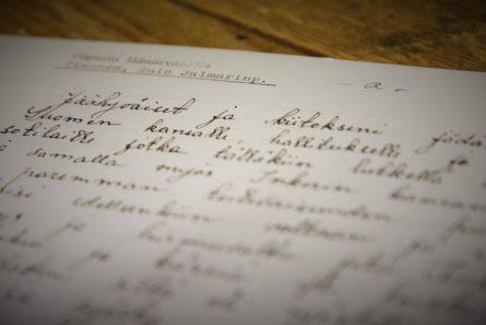 Sulo Timonen kehotti jäähyväiskirjeessään omaisia kääntymään Jeesuksen puoleen. Kuva: Matti Korhonen