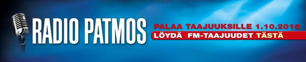 Patmos Lähetyssäätiö – Radio Patmos Maxibanneri