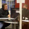 Kuvassa Patmos radion päätoimittaja Leo Meller (vas.) ja toimittajat: Pasi Turunen, Petri Mäkilä, Pirkko Säilä ja Markku Vuorinen.