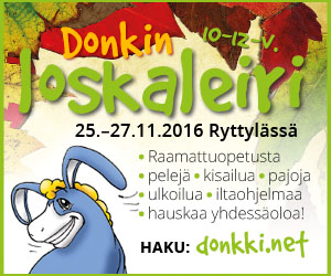 Donkin loskaleiri 2016
