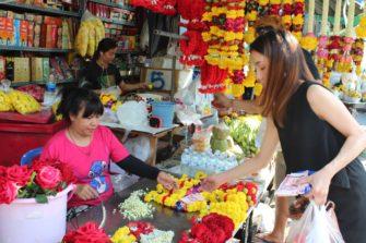 thaimaalainen torikauppias