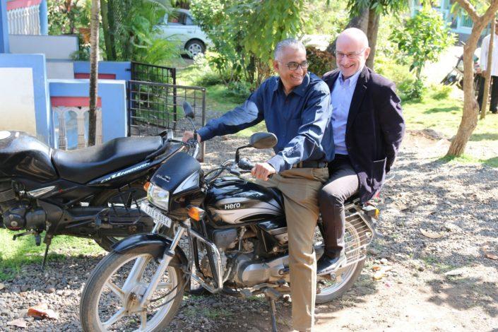 Satyanand Samuel ja Jaakko Rusama