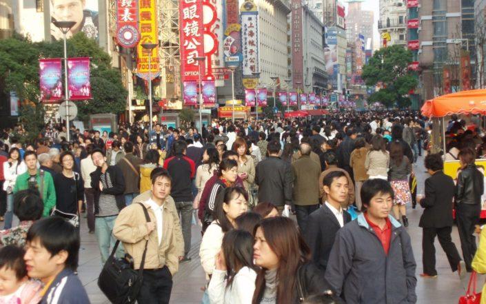 Shanghain katuvilinää