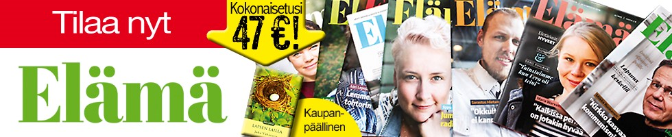 Elämä-lehti elokuu 2017