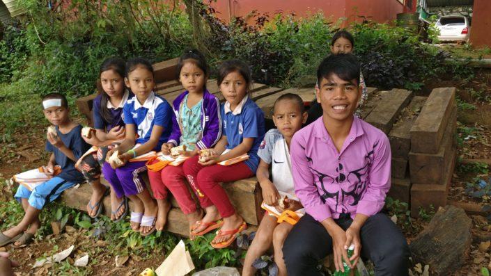 Kambodzan lapsia