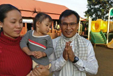 kambodžalainen perhe