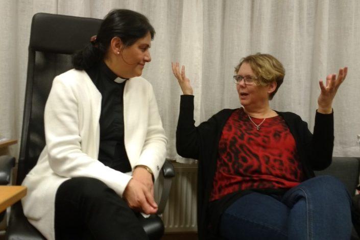 Anahita Parsan ja Maggan Johansson