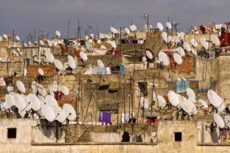 lautasantenneja Marokossa