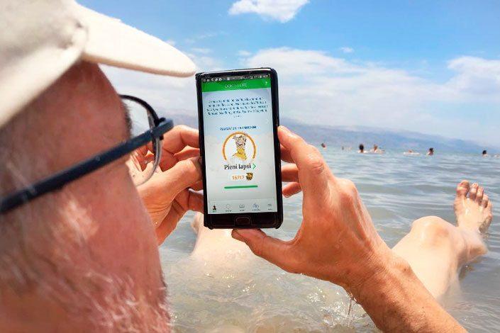 Domini Life toimii myös Kuolleessameressä
