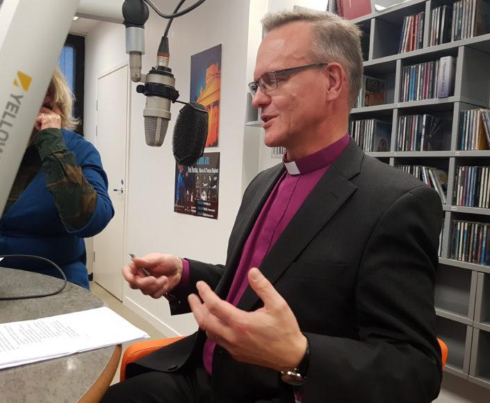 """Arkkipiispa Luoma Radio Deille: """"Eteen nousee kysymys ...  Arkkipiispa Luo..."""