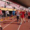 Run for Missions -juoksijoita Tampereella.