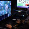 Mikael Tunér ohjaamassa tv-kuvauksia.