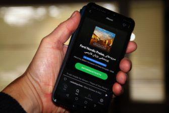 Farsi Nordic Praisea voi kuunnella myös kännykällä.