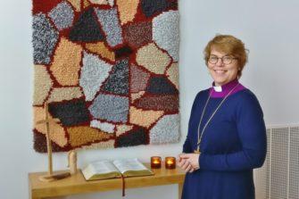 Espoon hiippakunnan piispa Kaisamari Hintikka.