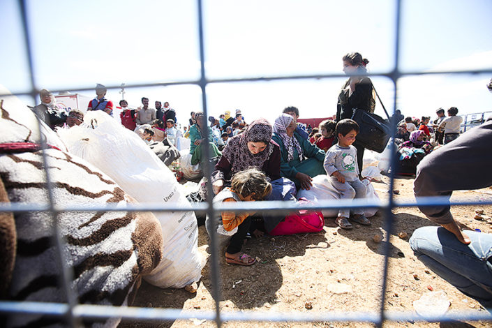 Pakolaiskriisi näkyy Turkin ja EU:n rajalla