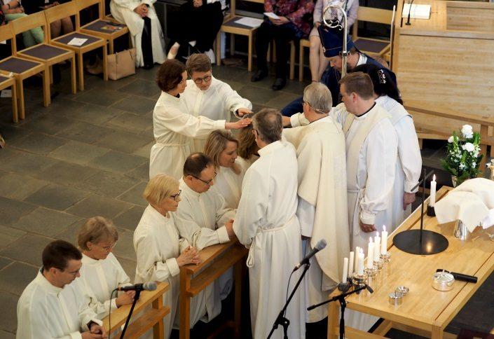 Medialähetyspäivien messu Korson kirkossa.