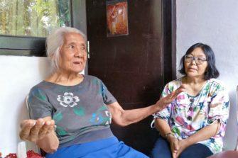 Susana Jaavalta ja Sarina Kalimantanilta asuvat nyt Balilla.