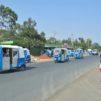 Katunäkymää Etiopiassa.