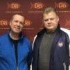 Ali Niemelä ja Lauri Johansson ovat Radio Dein uuden Ex-Criminals -ohjelmasarjan isännät. Kuvaaja: Radio Dei / Oskar Vilkevuori