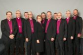 Suomen evankelis-luterilaisen kirkon piispat kokoontuivat eilen Kirkon talossa Helsigissä. Kuva: Kirkon kuvapankki / Aarne Ormio