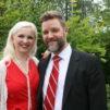 Maria ja Sami Kuivinen Pieksämäellä Paremman avioliiton perheleirillä