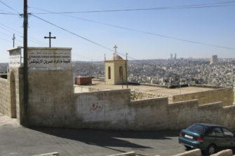 Syyrialaistaustainen kirkko Jordaniassa.