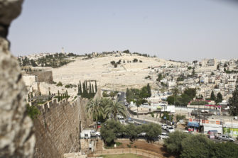 Näkymä Jerusalemista.