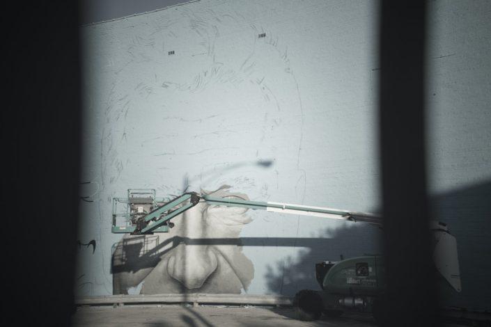 Graffiti seinällä