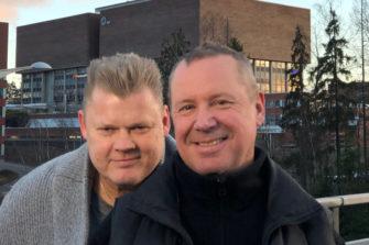 """ntiset rikolliset Lauri """"Late"""" Johansson ja Ali Niemelä sanailevat rosoisesti elämän suurista kysymyksistä."""