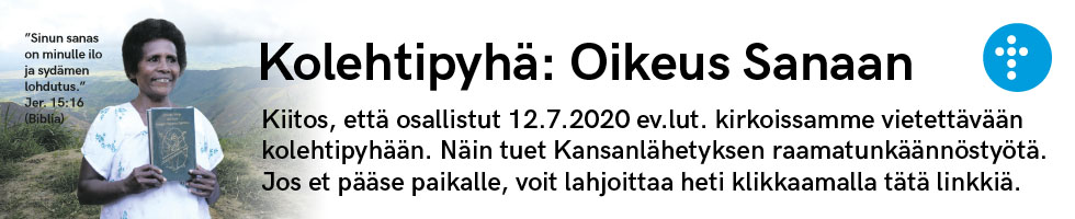 SEKL kolehtipyhä vuosisop SMy