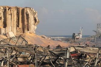 Beirutin satamassa sattui tuhoisa räjähdys.