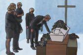hautaan siunaaminen, hautajaiset