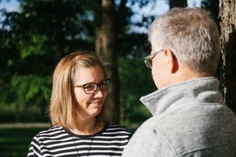 Tanja ja Timo Leskinen Lapuan avioparikurssilla