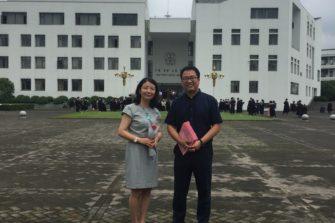 Manner-Kiinan ensimmäiset Kiinassa väitelleet teologian tohtorit