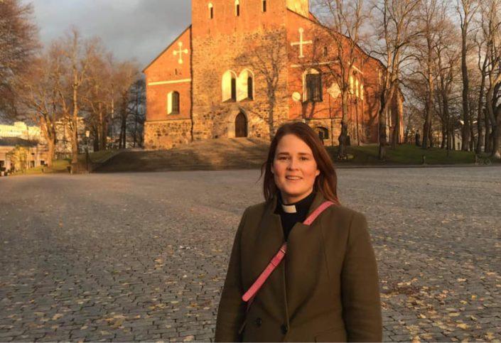 Mari Leppänen kuvailee mennyttä viikkoa intensiiviseksi.