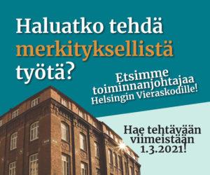 Helsingin Vieraskoti Neliöb, vko7-8.MJa
