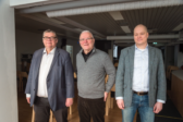 Timo Soini, Leif Nummela ja Samuli Virtanen. Kuva: Philippe Gueissaz