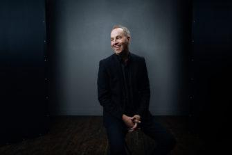 Kuvassa on Rob Ketterling on Tellus-konferenssin pääpuhuja