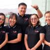 Wind FM:n tiimiä Mongoliassa.