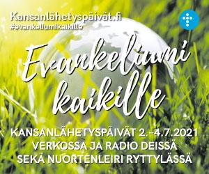 SEKL, 22.6.-4.7.2021, neliöbanneri: Kansanlähetyspäivät (vuosisopimus)